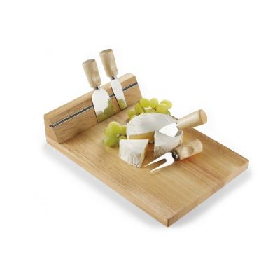 Image of Wooden cheeseboard