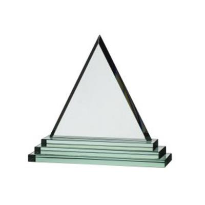 Image of TRIANGULAR JADE GLASS AWARD