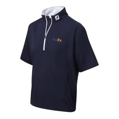 Image of FJ (Footjoy) Gents Short Sleeve Performance Windshirt (Half Zip)