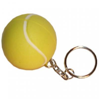 Image of Stress Tennis Ball Keyring