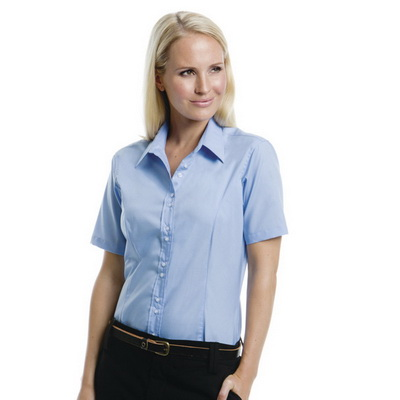 Image of Kustom Kit Ladies City Short Sleeve Business Shirt