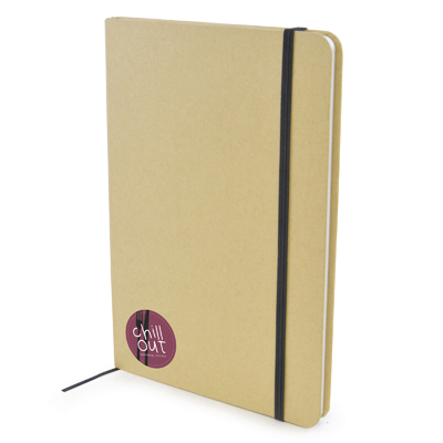 Image of A5 Natural recycled Notepad