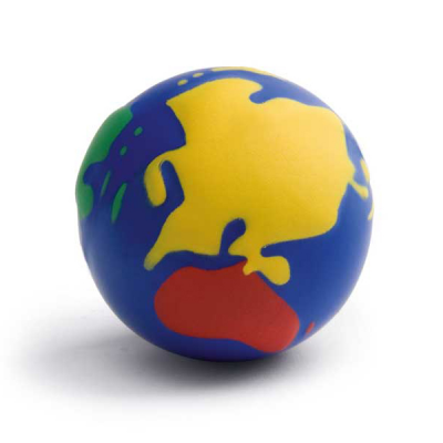Image of AntiStress Coloured Globe