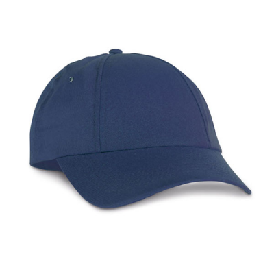 Image of 6 Panel Adjustable Cap With Hook and Loop