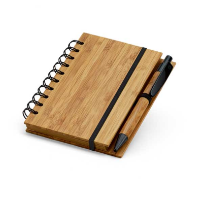 Image of Bamboo Notepad With Recycled Paper