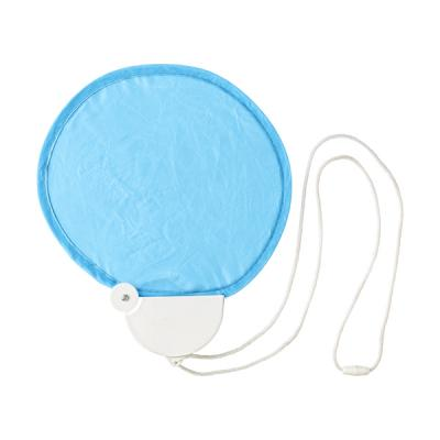 Image of Nylon foldable hand held fan