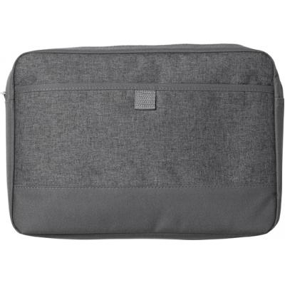 Image of Poly canvas (600D) laptop bag (14')