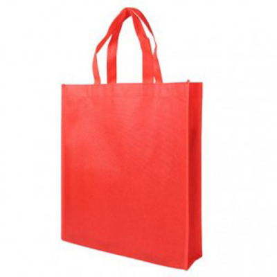 Image of Red Non Woven Poypropylene Carrier Bag