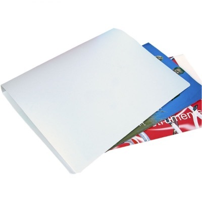 Image of Polypropylene Ring Binder - Frosted White