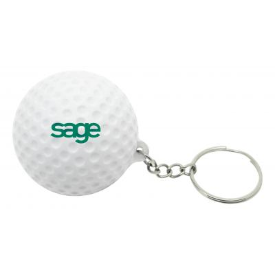 Image of Stress Golf Ball Keyring